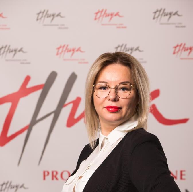 Żaneta Stoszek, instruktor Thuya